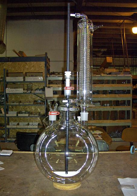 ساخت شیشه آلات آزمایشگاهی
