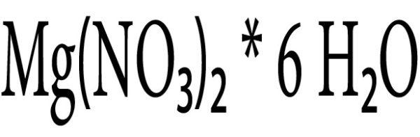 منیزیم نیترات 6 آبه